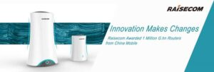 Raisecom выиграла 1 миллион маршрутизаторов G.hnиз предложения China Mobile Procurement